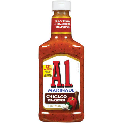 A.1. Chicago Steakhouse Marinade 16 fl oz Squeeze Bottle