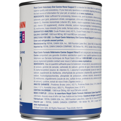 Royal Canin Veterinary Diet Canine Renal Support E Canned Dog Food