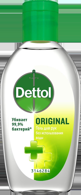 Антибактериальный Original гель для рук Dettol