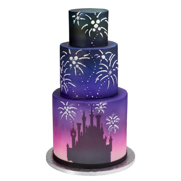 Disney Princess Castle Silhouette PhotoCake® Edible Image®