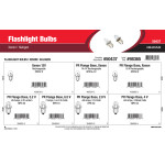 Flashlight Bulbs Assortment (Xenon & Halogen)