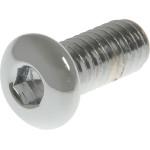 Chrome Button-Head Socket Cap Screws