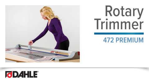 Dahle 472 Premium Rotary Trimmer Video
