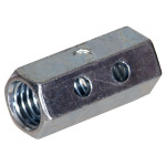 Coupling Nuts with Inspection Holes