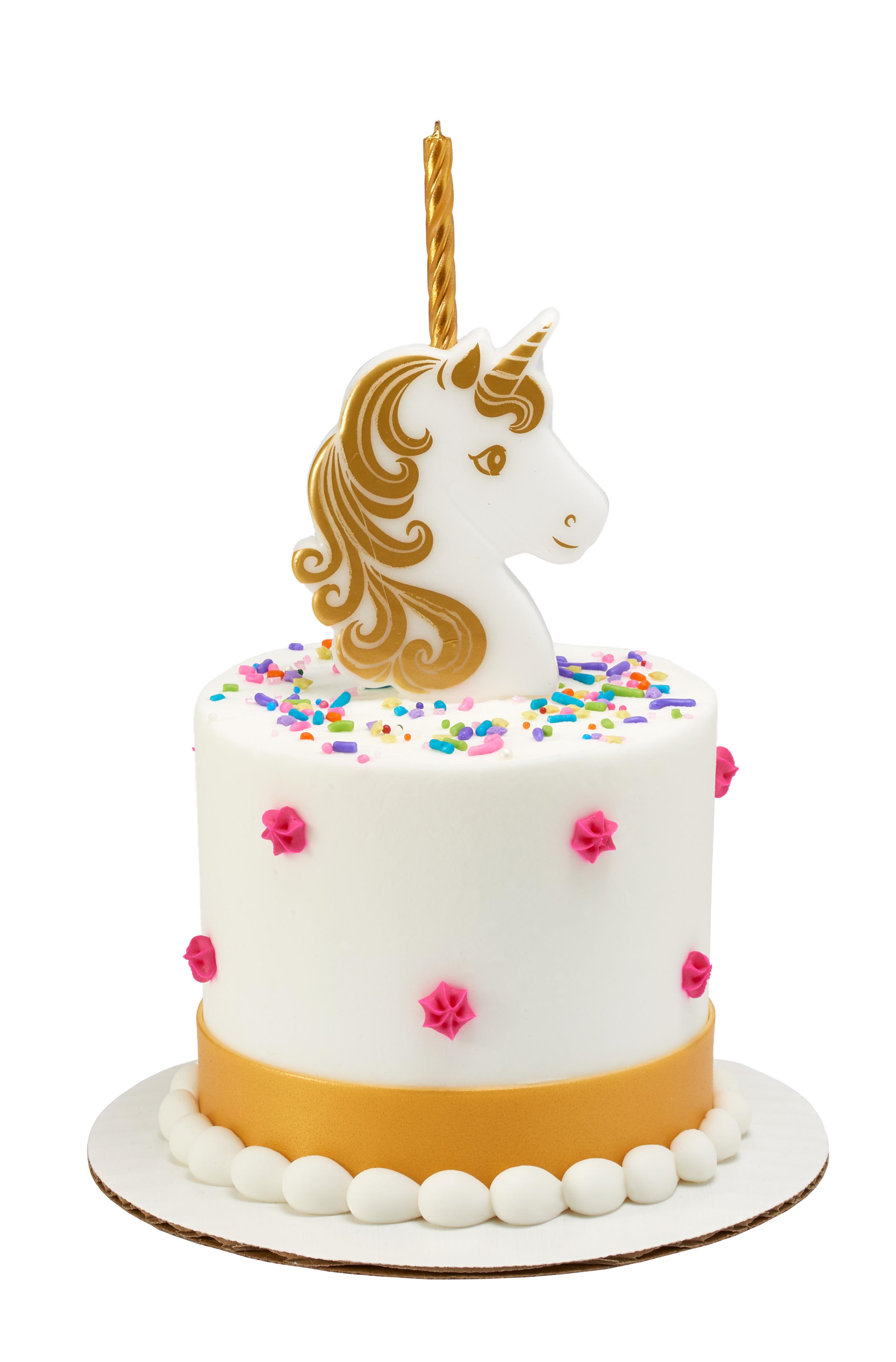 Golden Unicorn Candle Holder Decopac