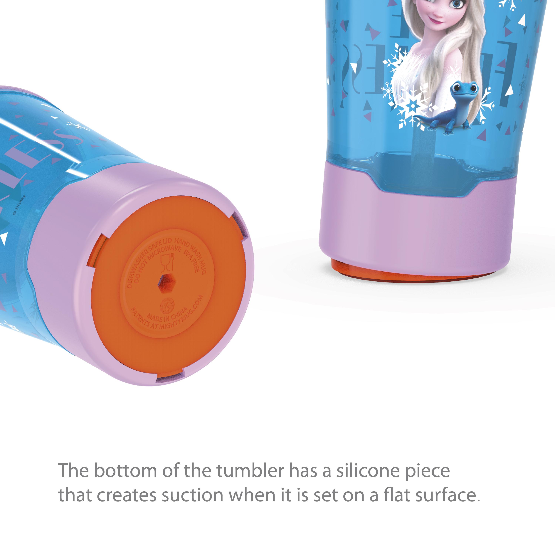 Disney Frozen 2 Movie 16 ounce Mighty Mug Tumbler with Straw, Princess Elsa slideshow image 5