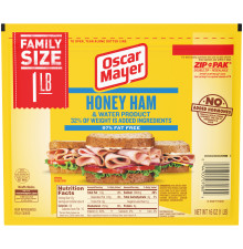 Oscar Mayer Honey Ham 16 oz Pack