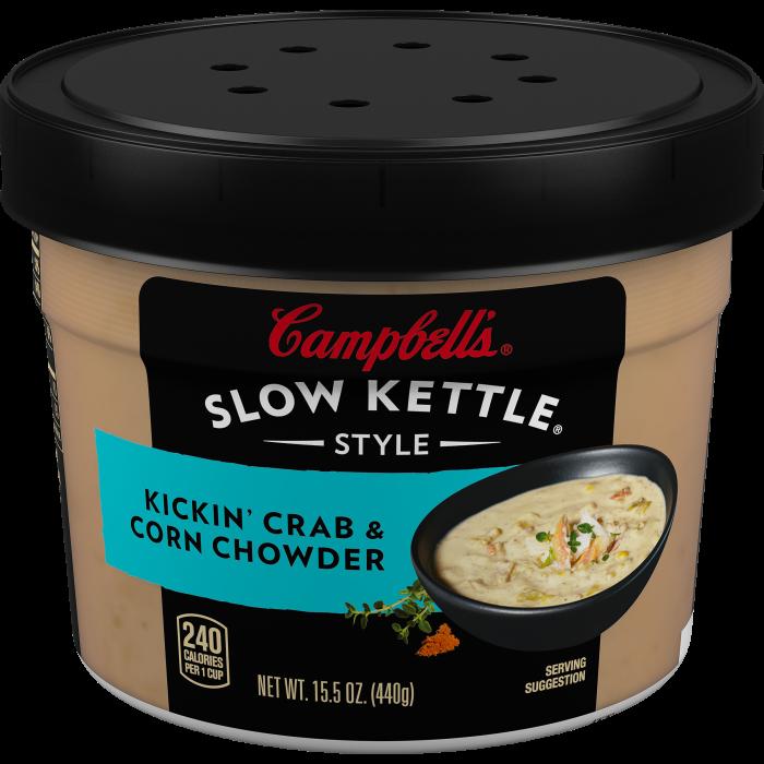 Kickin' Crab & Corn Chowder