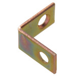 Hardware Essentials Zinc and Yellow Dichromate Corner Braces