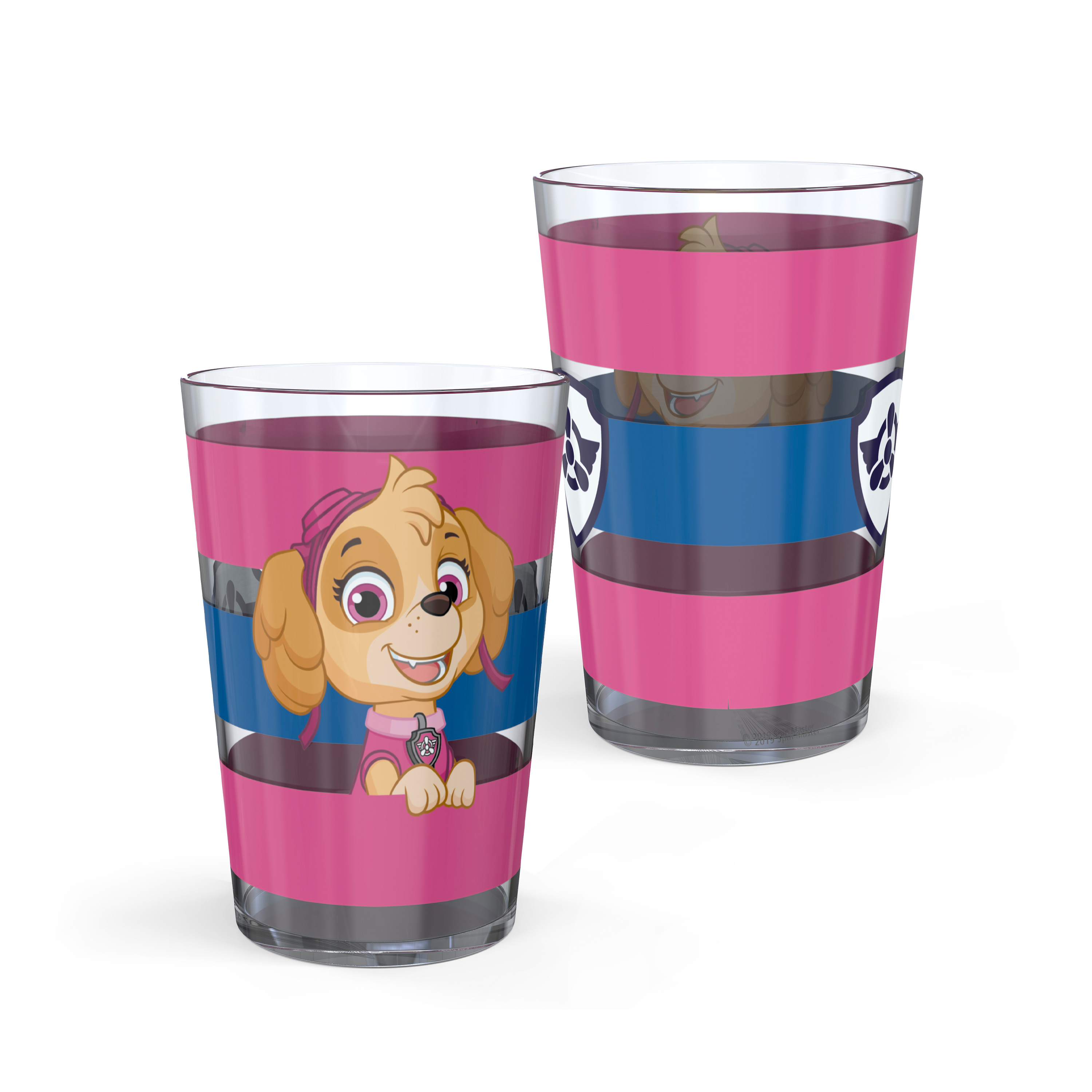 Paw Patrol 14.5 ounce Tumbler, Chase, Skye and Friends, 4-piece set slideshow image 7