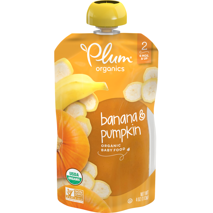 Banana & Pumpkin Baby Food