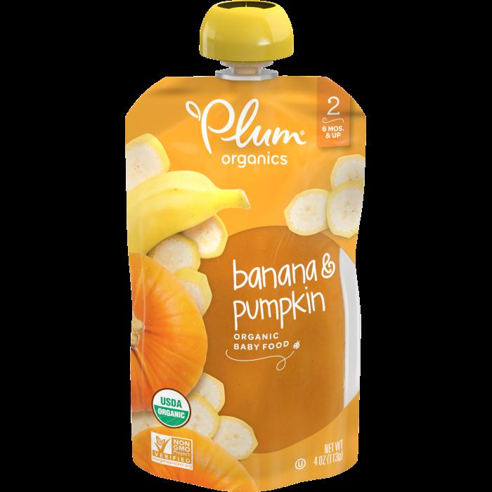 Banana & Pumpkin Baby Food