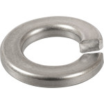 Marine-Grade #316 Stainless Split Lock Washer (#8)