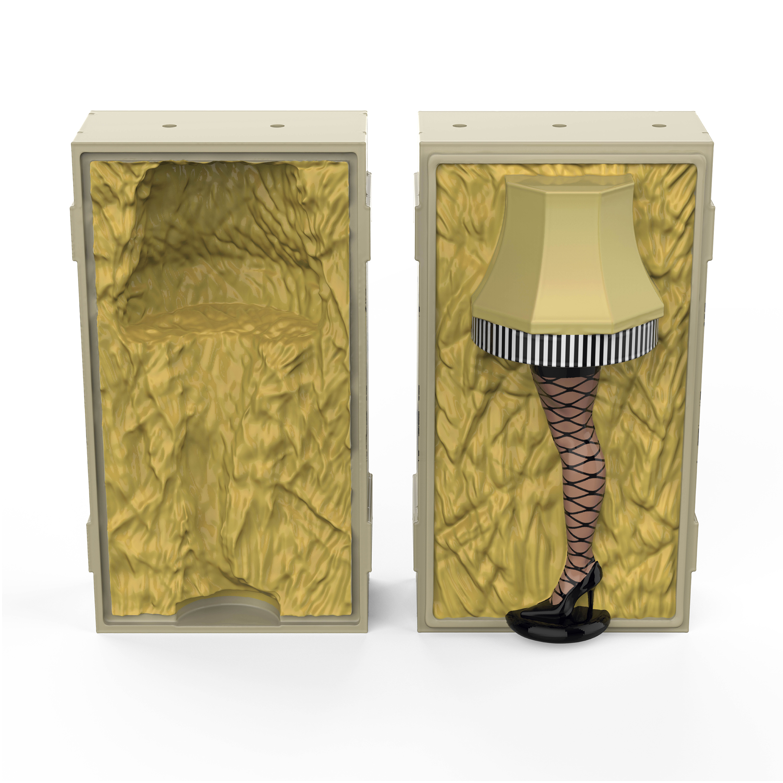 A Christmas Story Salt and Pepper Shaker Set, Leg Lamp, 2-piece set slideshow image 1