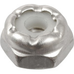 18-8 Stainless Steel Nylon Insert USS Coarse Stop Nut