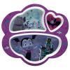 Disney Jr. Kid's Dinnerware Set, Vampirina, 3-piece set slideshow image 2