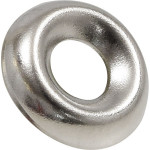 Nickel-Plated Countersunk Finish Washers