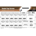 """Flat-Head Socket Cap Screws Assortment (5/16""""-18 & 3/8""""-16 Thread)"""