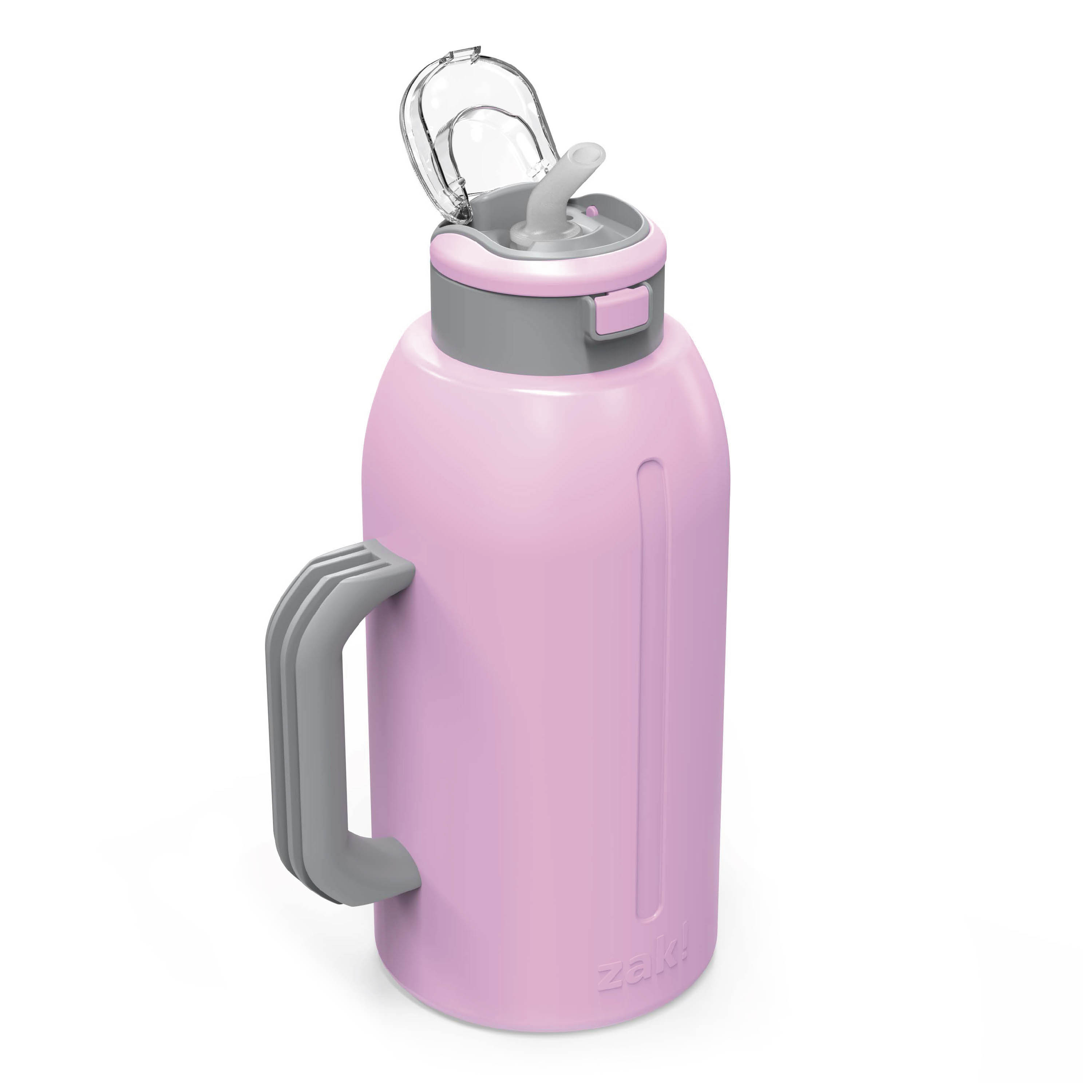 Genesis 64 ounce Stainless Steel Water Bottles, Lilac slideshow image 4