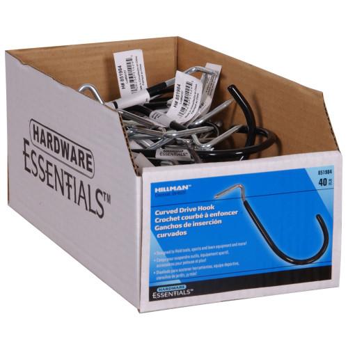 Hardware Essentials Curved Drive Hook Black