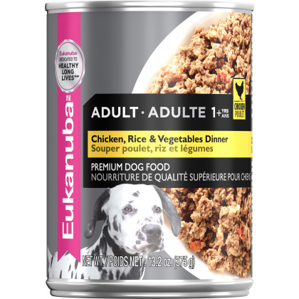 Eukanuba™ Adult Chicken, Rice & Vegetables Dinner Wet Dog Food