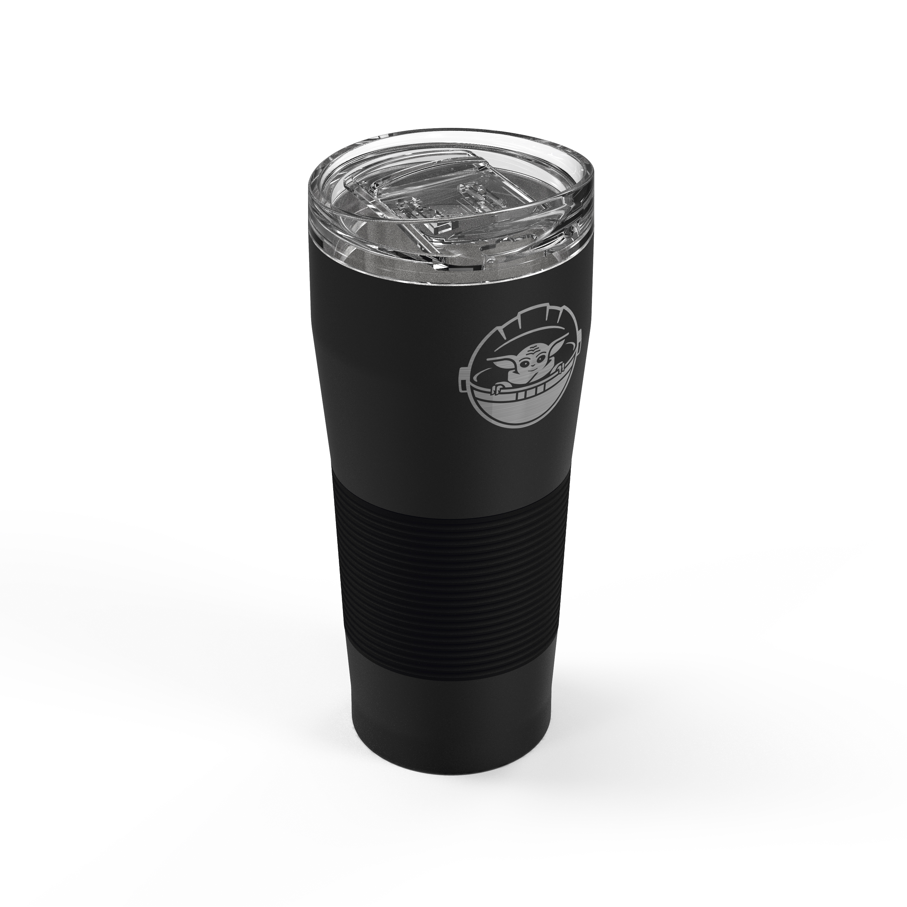 Star Wars: The Mandalorian 28 ounce Vacuum Insulated Stainless Steel Tumbler, The Child slideshow image 2