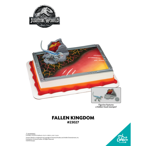 Jurassic World™ Fallen Kingdom DecoSet® The Magic of Cakes® Page