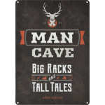 "Man Cave Novelty Sign (10"" x 14"")"
