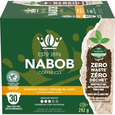Nabob Breakfast Blend 30 ct Single Serve Coffee Pods