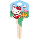 Hello Kitty Spring Key Blank