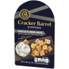 Cracker Barrel Cheese Dip & Crackers Garlic Herb Jack
