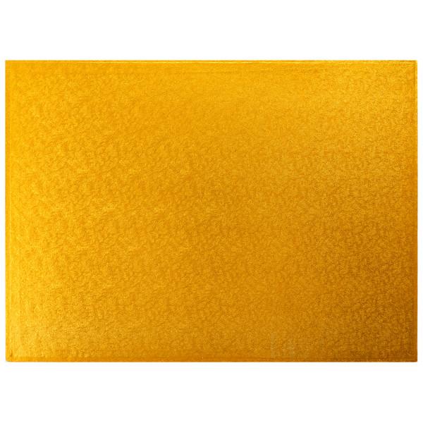 1/2 Sheet Gold Foil Cake Board