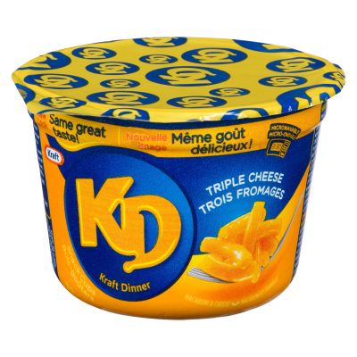 KRAFT DINNER CUP Triple Cheese