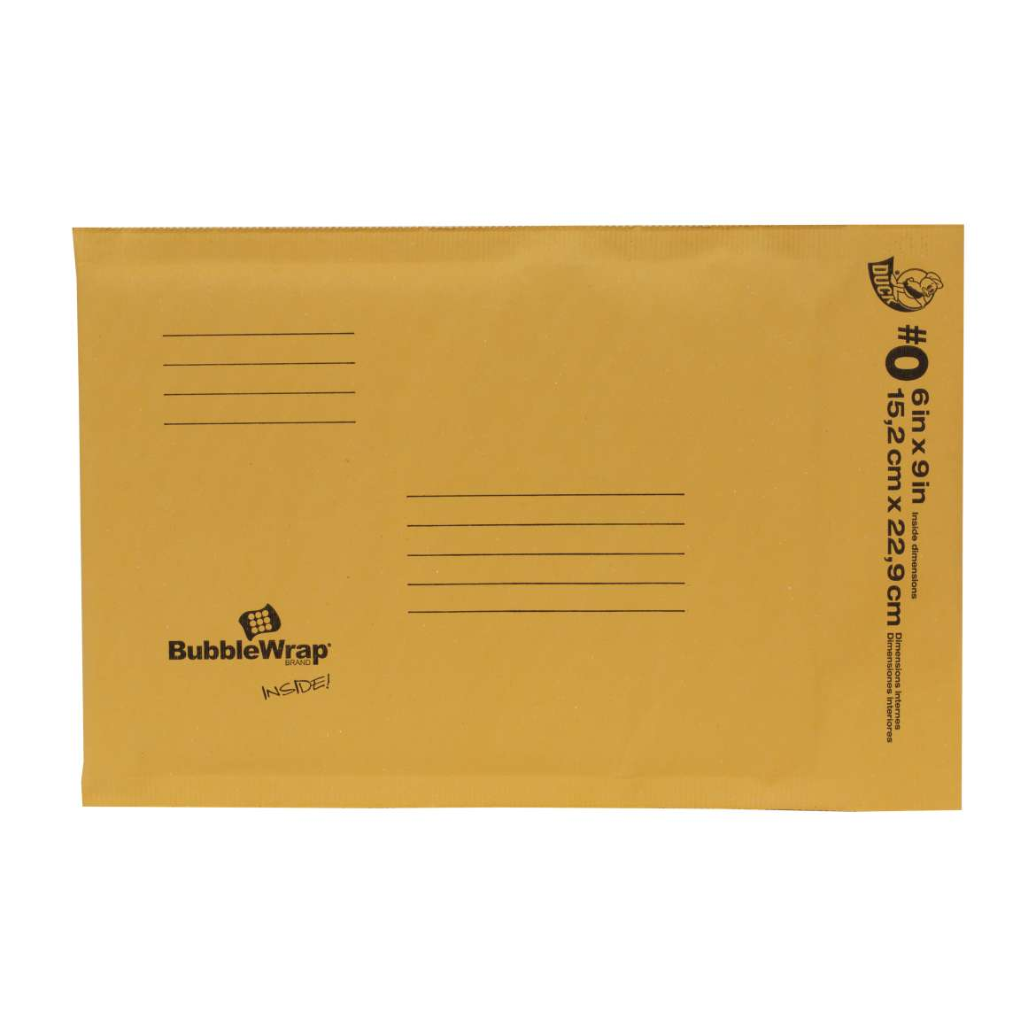 Kraft Bubble Mailers Image