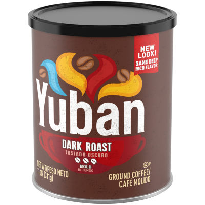Yuban Dark Roast Ground Coffee 11 oz Canister