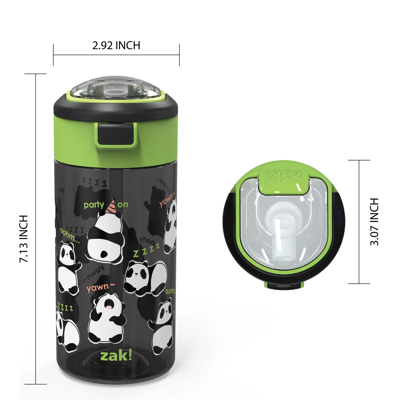 Genesis 18 ounce Water Bottles, Panda, 2-piece set slideshow image 9