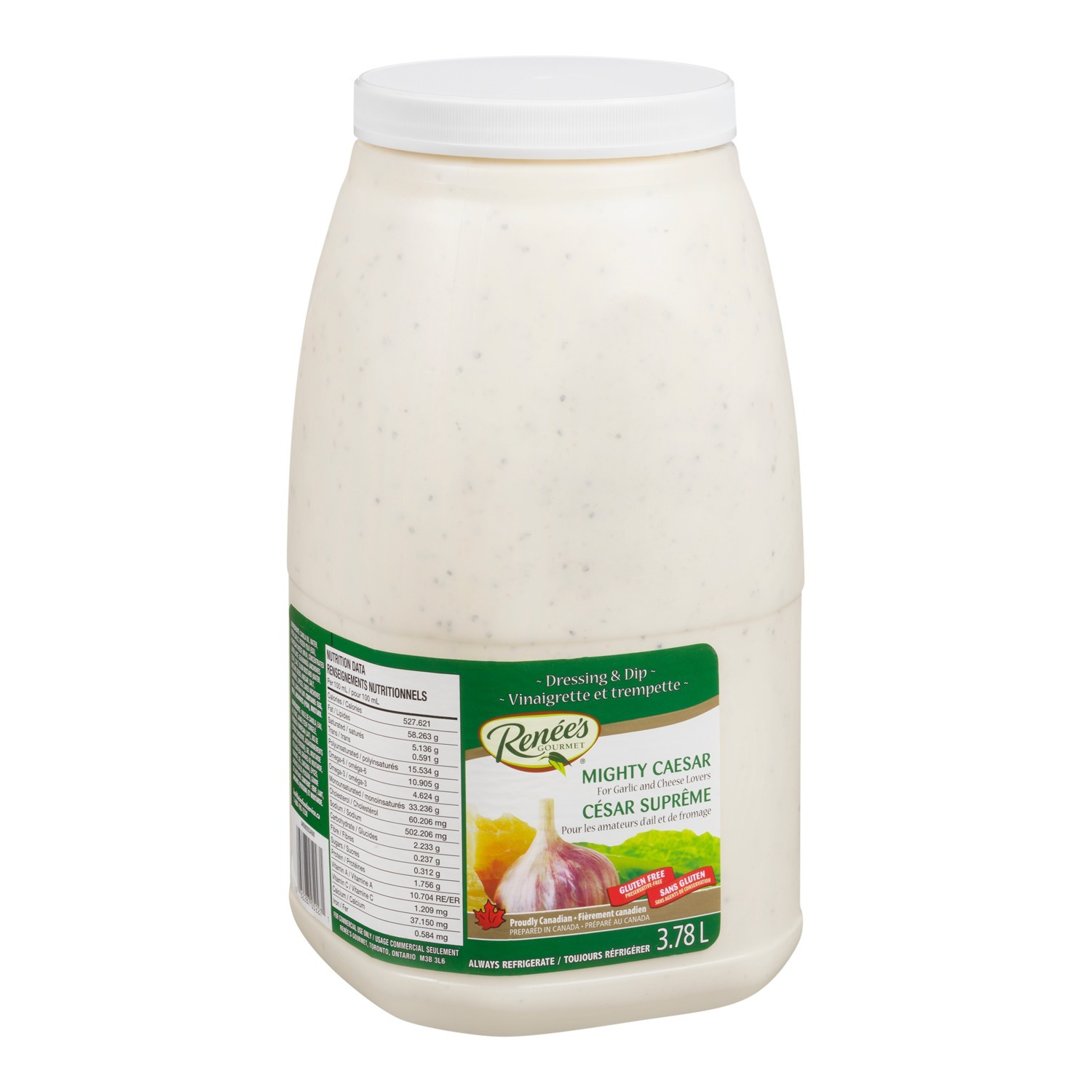 RENÉE'S Mighty Caesar Dressing 3.78L 2