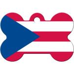 Puerto Rico Large Bone Quick-Tag