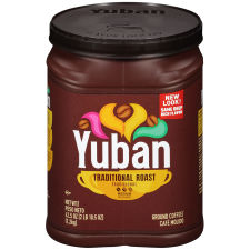 Yuban Original Medium Roast Ground Coffee, 42.5 oz Canister
