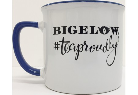 White/Blue #TeaProudly Mug