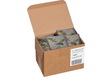 steep cafe by Bigelow full leaf english breakfast decaffeinated black tea pyramid bag in overwrap