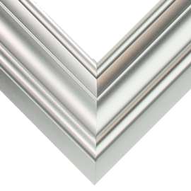 Nielsen Frosted Silver 1 1/4