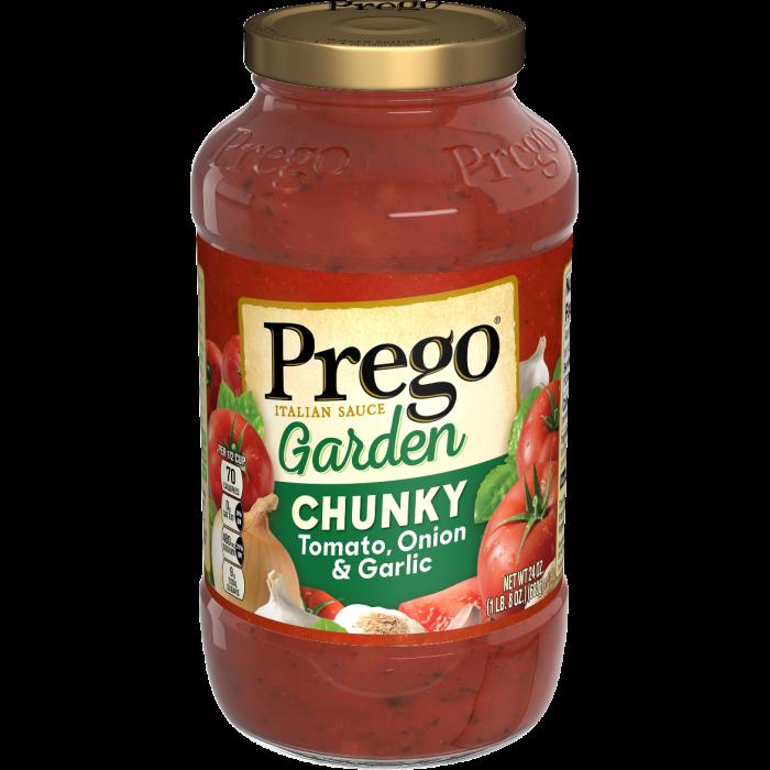 Chunky Tomato, Onion & Garlic Italian Sauce