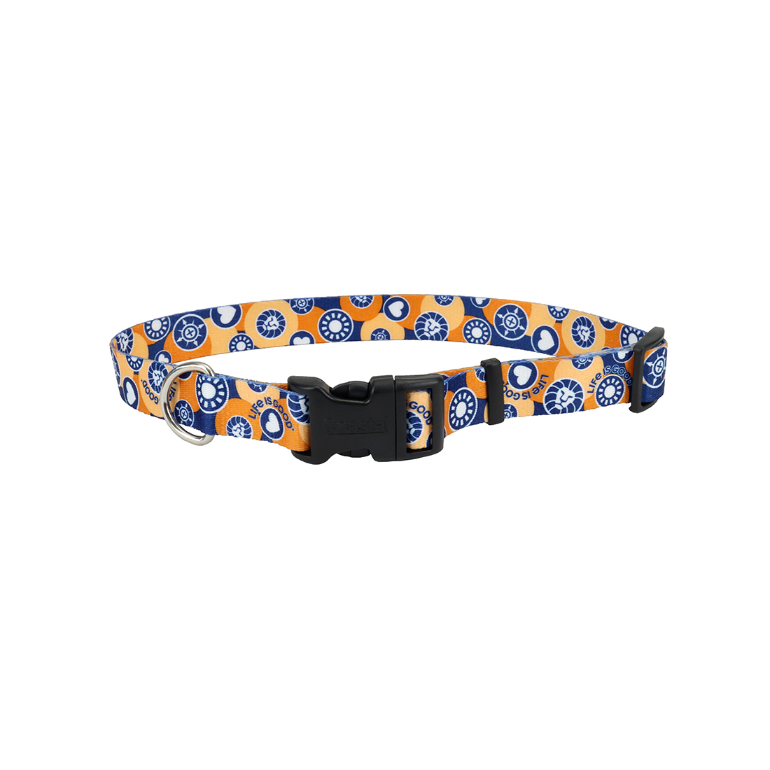 Life is Good Styles Adjustable Dog Collar