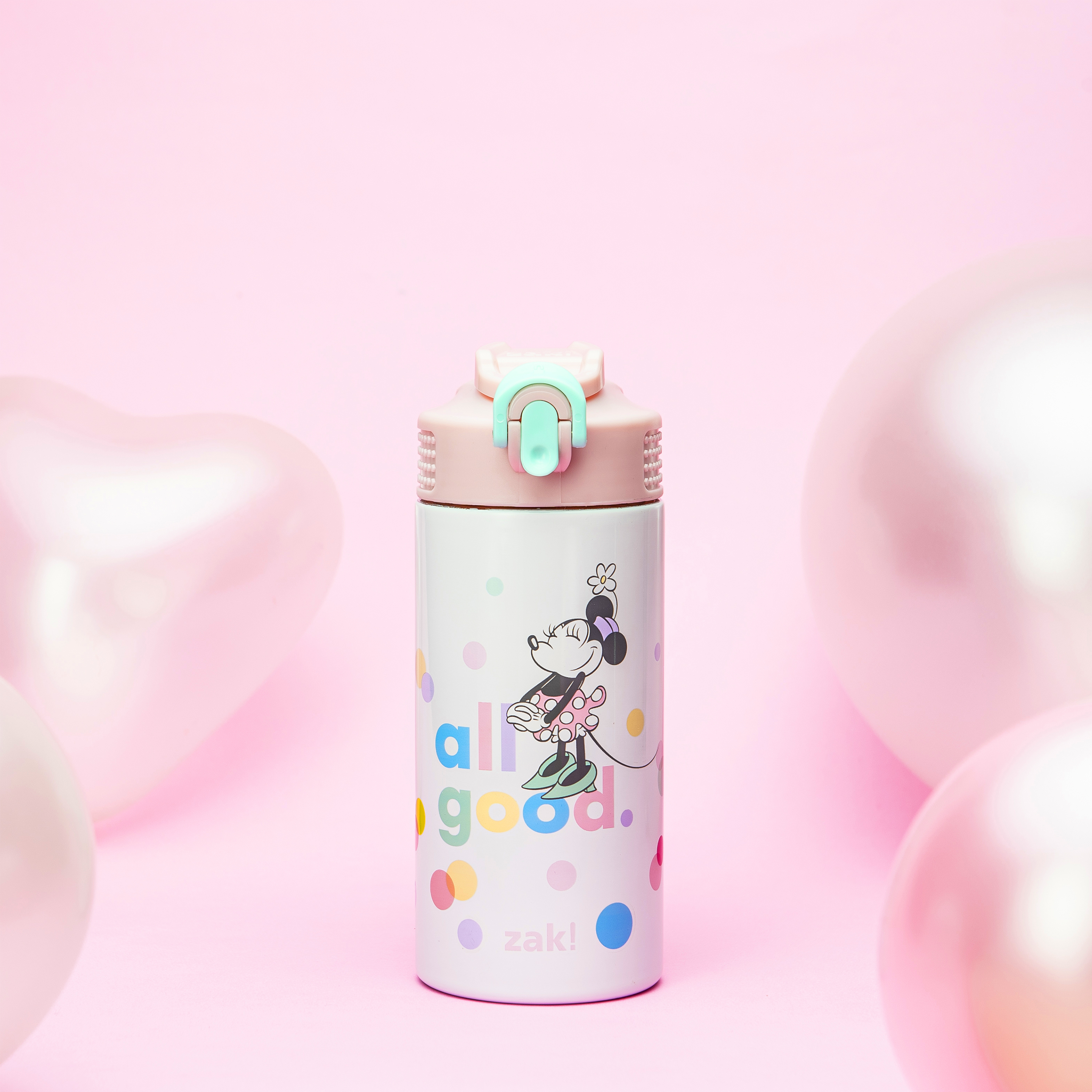 Disney 14 ounce Stainless Steel Vacuum Insulated Water Bottle, Minnie Mouse slideshow image 8
