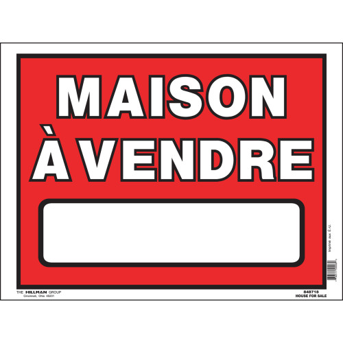 French House For Sale Sign, 12