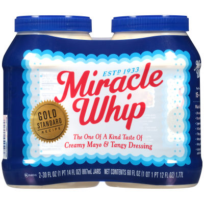 Miracle Whip Original Dressing 2 - 30 fl oz Jars