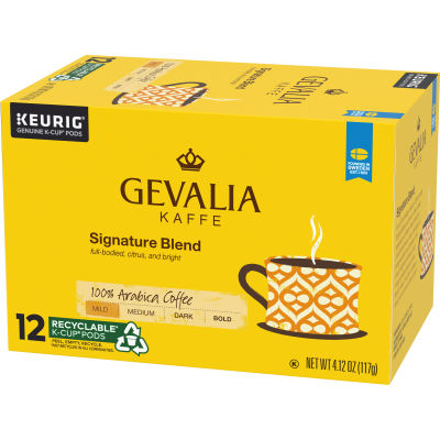 Gevalia Signature Blend Coffee K-Cup Pods, 12 count