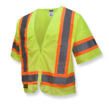 Radians SV22-3 Economy Type R Class 3 Safety Vest with Two-Tone Trim