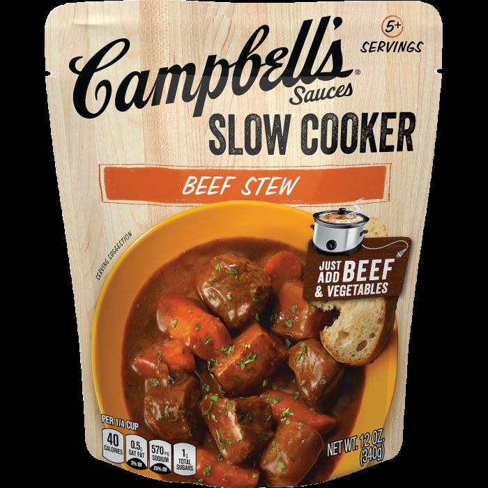 Beef Stew Slow Cooker Sauce